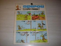 SPIROU 1671 23.04.1970 MARSUPILAMI DESSINATEURS OU TROUVENT ILS LES HEROS De BD - Spirou Magazine