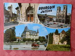 Dep 38 , Cpm  BOURGOIN JALLIEU , I.24359  , Multivues  (699) - Bourgoin