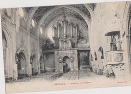 Saint FELIX De CARAMAN (31) CPA - Intérieur De L'église : Les Orgues - Altri Comuni