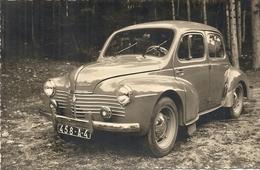 BELLE 4 CV RENAULT - Automobiles