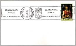 TURISMO - SEMANA SANTA EN GANDIA - Fiestas De Interes Turistico. Gandia, Valencia, 1984 - Otros