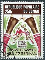 Congo (Braz) 1974 - Mi 411 - YT Pa 188 ( World Football Cup ) Airmail - Congo - Brazzaville