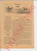 3 Scans 1890 Ferme D'Arcy-en-Brie Vache Laitière Bouteilles De Lait Nicolas Vaches Machines Tiersot Pastilles Deny229CH3 - Vieux Papiers