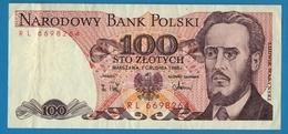 POLAND LOT 100 + 500 Złotych1982 / 1988 - Pologne