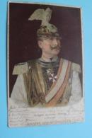 Kaiser König WILHELM II Verband Deutscher Vereine In ANTWERPEN Geburtstagsfeier  - Anno 1905 ( Zie Foto Voor Details ) ! - Familles Royales