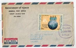 AJMAN   Lettre Pour Le Liban 1969 - Ajman