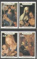M0301 ✅ Art Painting Christmas Xmas Durer 1986 Aitutaki 4v Set MNH ** 14ME - Madonnas