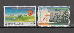 NATIONS  UNIES  VIENNE  1991       N° 127-128      NEUFS**        CATALOGUE YVERT&TELLIER - Neufs