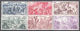 Guyanan Francese 1946 Y.TA.29/34 **/MNH VF/F - Guadeloupe (1884-1947)