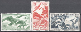 Guyana Francese 1947 Y.T.A35/37 */MVLH VF/F - Poste Aérienne