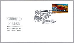 TREN DE LEVITACION MAGNETICO - MAGLEV (MAGnetic LEVitation). Pittsburgh PA 1999 - Trains