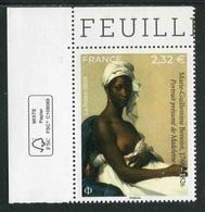 """TIMBRE** Gommé De 2020 En Coin De Feuille """"2,32 € - Marie-Guillemine BENOIST 1767-1826"""" - Neufs"""