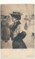 Musée De Reims - J. ADLER, Le Trottin - Peintures & Tableaux