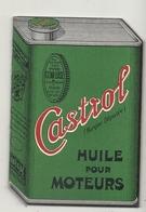 CARNET HUILE CASTROL - Publicidad