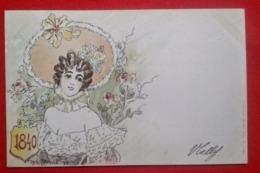 """CPA """"1840"""" - Les Annonciatures - Jack Abeillé - Künstlerkarten"""