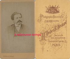 A Voir CDV EGYPTE Au Caire- Par Le Rare Photographe Délié Et Béchard Succursale De La Maison Pierson à Paris-Homme - Photographs