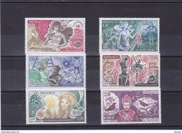 MONACO 1980 ANDERSEN Yvert 1235-1240 NEUF** MNH - Ungebraucht