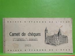Luxembourg, Carnet De Chèques. BCEE Mondorf-les-bains - Variétés & Curiosités