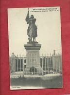CPA -  Beaulieu Les Fontaines - La Statue Jeanne D'Arc - Otros Municipios
