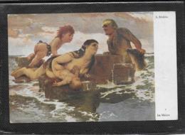 AK 0448  Böcklin , A. - Im Meere / Verlag Bruckmann Um 1910-20 - Schilderijen