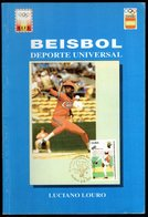 BASEBALL - SPAGNA 1994 - LUCIANO LOURO - BEISBOL DEPORTE UNIVERSAL - Autres