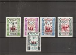 JO D'hiver De Innsbruck -1964 ( 79/83 Non Dentelés XXX -MNH- De Dubai) - Hiver 1964: Innsbruck