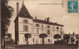 38 - AGNIN - LE CHÂTEAU DE GOLAT - France