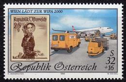 Österreich Mi. 2292 I ** Internationale Briefmarken-Ausstellung WIPA 2000 (11067 - 1945-.... 2. Republik