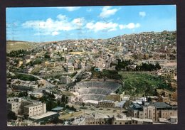 Jordanie - Amphithéâtre Of Amman Et Vue Aérienne De La Ville De Amman  ( N° 183  Holy Views - Jérusalem  ) - Jordanie