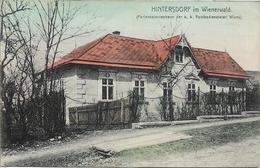 1911 - Hintersdorf Im Wienerwald , Gute Zustand,  2 Scan - Tulln