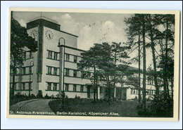 XX006074/ Berlin Karlshorst St. Antonius-Krankenhaus 1937 AK - Autres