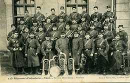 153è Régiment D'infanterie - Toul Section Hors Rang - Musique - Regimente