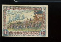 Notgeld.   Stadt Süderbrorup.    1 Mark  SUPERBE Aucun Pli - [ 3] 1918-1933 : République De Weimar
