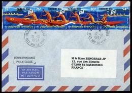 1994, Französisch Polynesien, 664-67, Brief - Polynésie Française
