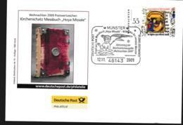 Germany Cover Münster 2009 Kirchenschatz Messbuch Hoya Missale (G110-1) - Storia Postale
