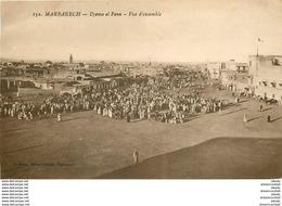 WW Maroc. MARRAKECH. Djema Et Fena Le Marché - Marrakech