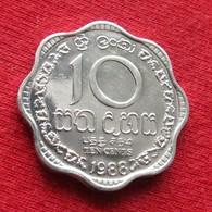 Sri Lanka 10 Cents 1988 KM# 140a - Sri Lanka