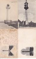L026.....4 CPA ILE DE RE ...PHARES - 5 - 99 Postkaarten