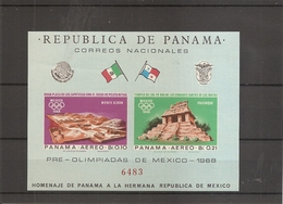 JO De Mexico -1968 ( BF 69 XXX -MNH- Du Panama) - Sommer 1968: Mexico