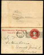 Mexico Letter Card MEPSI #LC23 Properly Used CDMX 1901 - Mexique