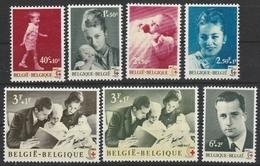 1262/1268 Rode Kruis/Croix Rouge ** - België