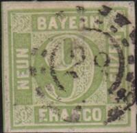 Bayern   .    Michel    .    11    .      O      .   Gebraucht . /      Cancelled - Bavaria