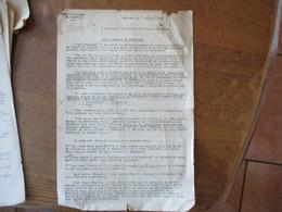 CAMBRAI LE 7 JUILLET 1941 LE SOUS PREFET LETTRE DE M.LE KRIEGSVERWALTUNGSRAT AU SUJET DE LA LUTTE CONTRE LE DORYPHORE - Documents Historiques