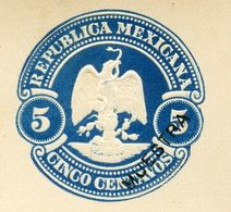 Mexico Letter Card With Reply MEPSI #LC26S MUESTRA 1899 - Mexique