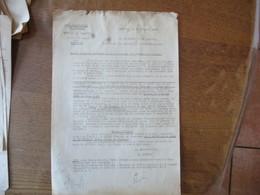 CAMBRAI LE 19 JANVIER 1942 LE SOUS PREFET ETATS MENSUELS CONCERNANT LE RAMASSAGE DES PRODUITS LAITIERS - Documents Historiques