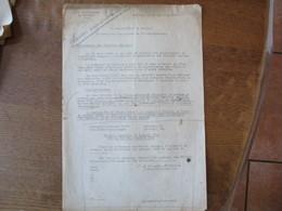 CAMBRAI LE 10 JUILLET 1942 LE SOUS PREFET PROTECTION DES RECOLTES SUR PIED,LAISSEZ-PASSER REGLES FIXEES PAR L'AUTORITE A - Documents Historiques