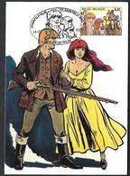OCB Nr 3095 Strip BD Comic Cartoon Bakelandt Leemans - Stempel Kortrijk - Brieven En Documenten