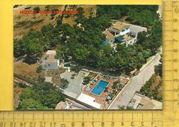 CPM  ESPAGNE , ISLAS BALEARES, MALLORCA : Paguera, Hostal Villa Lutgarda, Vista Aerea - Mallorca