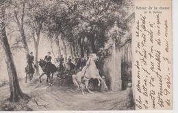 CPA Retour De La Chasse - R. Koller (jolie Scène) - Caccia