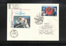 Russia USSR 1985 Space / Raumfahrt Interesting Cover - UdSSR